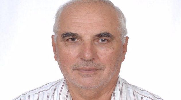 Ο Δημήτρης Μακρής για την υποψηφιότητά του ως Πρόεδρος του Συλλόγου Πολυτέκνων Αγρινίου