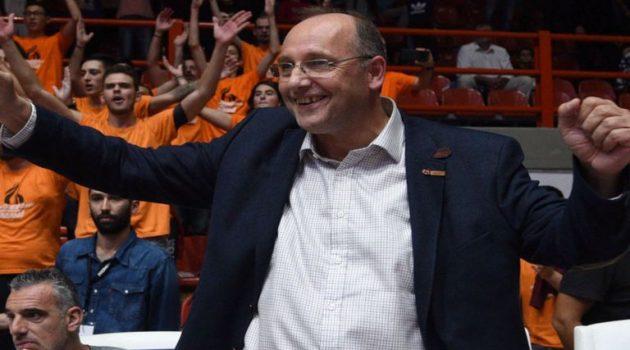 Ο Α.Ο. Αγρινίου συγχαίρει τον Ε. Λιόλιο για την εκλογή του ως Πρόεδρος της Ε.Ο.Κ.
