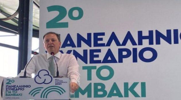 Σπ. Λιβανός: «Επενδύουμε στα ποιοτικά χαρακτηριστικά του ελληνικού βαμβακιού» (Photos)