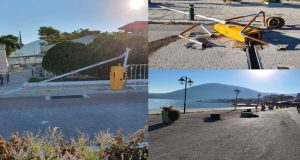 Νέοι βανδαλισμοί στην Παραλία της Βόνιτσας – Έσπασαν και γλάστρες