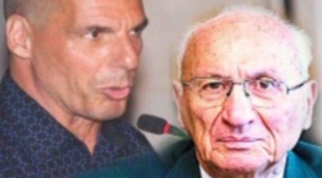 Πένθος για τον Γιάνη Βαρουφάκη: Πέθανε ο πατέρας του