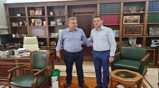 Επίσκεψη του Αντιπεριφερειάρχη Αγροτικής Ανάπτυξης Θ. Βασιλόπουλου στην Κρήτη(Photos)