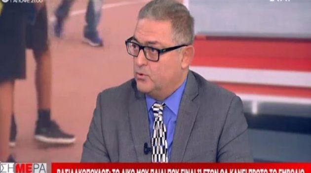 Βασιλακόπουλος: «Δε γίνεται να ρισκάρεις το ανοσοποιητικό ενός παιδιού με φυσική λοίμωξη»