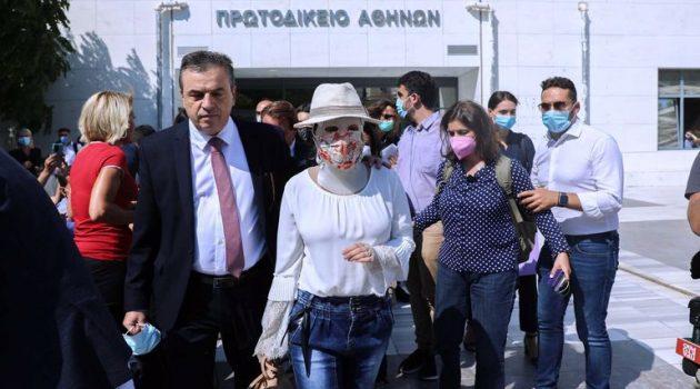 Η Αμφιλοχιώτισσα Ιωάννα Παλιοσπύρου: «Ο κόσμος έξω από το δικαστήριο μου έδωσε κουράγιο»