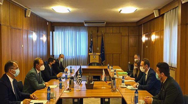 Συνάντηση Λιβανού με τον Σλοβάκο ομόλογό του