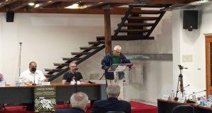 Ο Φωκίων Ζαΐμης στη συνεδρίαση του Δ.Σ. της Ομοσπονδίας Εμπορίου…