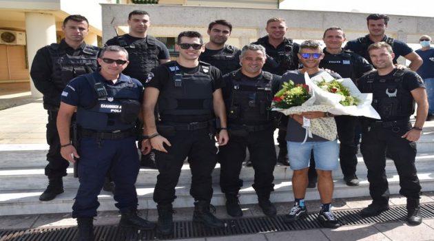 Ένωση Αστυνομικών Υπ. Ακαρνανίας: Θερμή υποδοχή στον Φώτη Ζησιμόπουλο (Video – Photos)