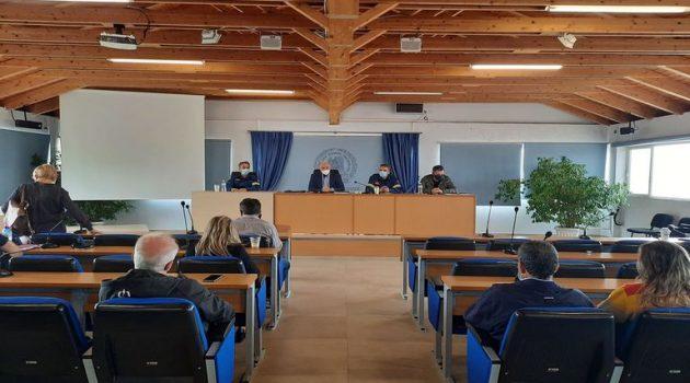 Έκτακτη συνεδρίαση της Πολιτικής Προστασίας του Δήμου Ι.Π. Μεσολογγίου