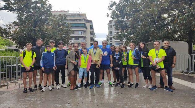 Γ.Α.Σ. Αγρινίου: Αθλητές και Αθλήτριες διακρίθηκαν στον Ημιμαραθώνιο (Photos)
