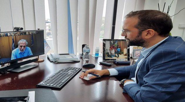Σύσκεψη Φαρμάκη – Στυλιανίδη ενόψει της έλευσης του νέου κύματος κακοκαιρίας