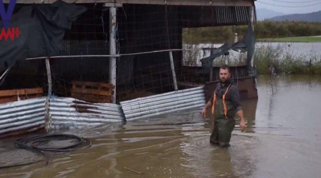 Μεγάλες καταστροφές στον κάμπο του Λεσινίου (Video – Photos)