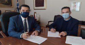 Δήμος Αγρινίου: Υπογραφή της σύμβασης για το έργο στην περιοχή…