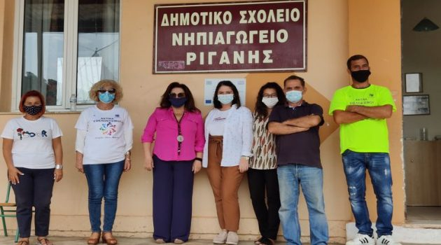 Αγρίνιο: Κοντά στους μαθητές των Δημοτικών Σχολείων μέλη της Ακτίνας Εθελοντισμού(Photos)