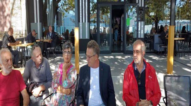 Στη Ναύπακτο ο Ευρωβουλευτής του ΣΥ.ΡΙΖ.Α. – Π.Σ. Κώστας Αρβανίτης (Photos)