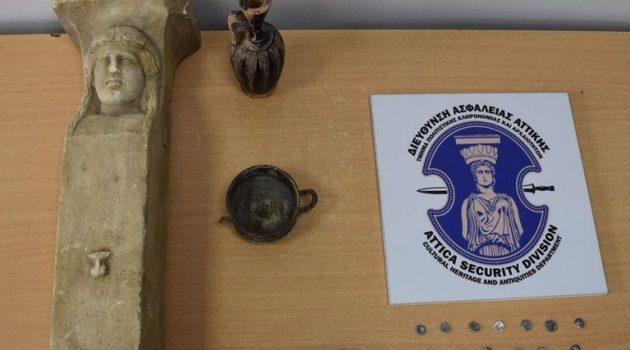 Ηλεία: Αρχαιοκάπηλοι πιάστηκαν στη φάκα – Ήθελαν να πουλήσουν σπάνιες αρχαιότητες