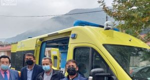Χαλκιόπουλο: Παραδόθηκε το νέο ασθενοφόρο στο Κέντρο Υγείας (Photos)