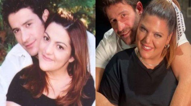 Δανάη Μπάρκα: Ποζάρει με τον Γεωργούλη όπως η μητέρα της πριν 20 χρόνια