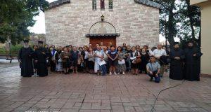 Ι.Ν. Αγίας Τριάδος Αγρινίου: Ιερά αποδημία στα ιερά προσκυνήματα της…