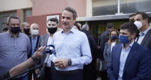 Ν.Δ.: Στο Γαλάτσι ο Κυριάκος Μητσοτάκης για τις εσωκομματικές εκλογές…