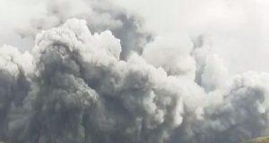 Ιαπωνία: Ηφαιστειακή έκρηξη στο Όρος Άσο (Video)