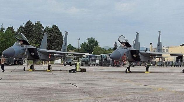Ελληνοτουρκικά: Τα Αμερικανικά F-15 ξαναφθάνουν στην Ελλάδα