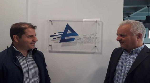Ο Β. Φωτάκης στον Antenna Star: «Επιτέλους ξεκινά η ανάπλαση του Πάρκου Αγρινίου» (Ηχητικό)