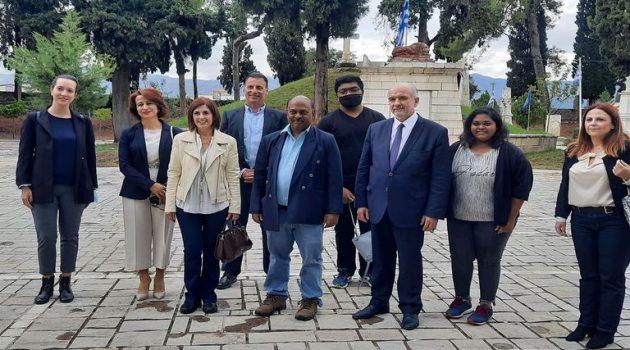 Το Μεσολόγγι επισκέφτηκε την Κυριακή ο Πρέσβης της Ινδίας στην Ελλάδα (Photo)