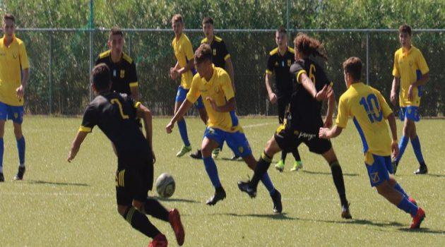 Την ήττα με σκορ 6-1 γνώρισε η ομάδα Κ17 του Παναιτωλικού
