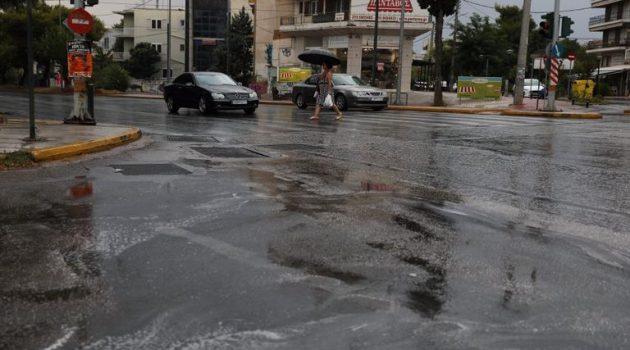 Κακοκαιρία «Αθηνά»: Προειδοποίηση Meteo για ισχυρά φαινόμενα σε Αττική και Εύβοια