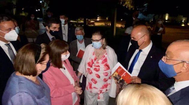 Στη Ναύπακτο η Πρόεδρος της Δημοκρατίας για τη 450η Επέτειο από τη Ναυμαχία