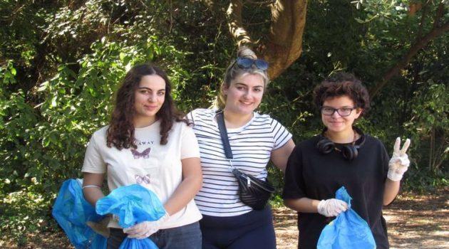SaveYourHoodAgrinio: Εθελοντική δράση καθαρισμού του Δημ. Πάρκου (Photos)