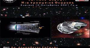 Διάλεξη για την Κοσμολογία: Κοσμολογικός πληθωρισμός και Πολυ – Σύμπαν:…
