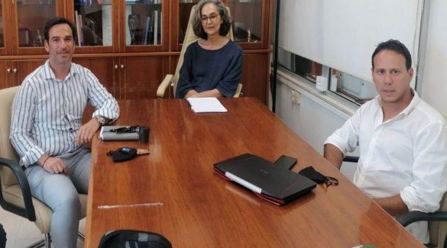 Συνάντηση του Δημήτρη Νικολακόπουλου με Σακοράφα και Κεντέρη