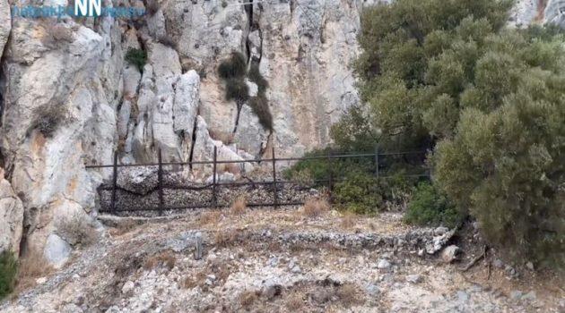 Με την πρώτη βροχή γεμίζει πέτρες ο δρόμος στην Παλιοβούνα… (Video)