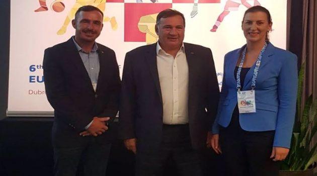 Εκλογή Καγιαλή στην Επιτροπή Αθλητών των Ευρωπαϊκών Ολυμπιακών Επιτροπών