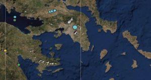 Ιδιαίτερα αισθητή ήταν η σεισμική δόνηση στην Αθήνα