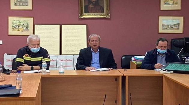 Δήμος Θέρμου: Συνεδρίαση Συντονιστικού Οργάνου Πολιτικής Προστασίας
