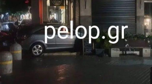 Πάτρα: Έχασε τον έλεγχο του αυτοκινήτου και μπήκε σε κρεπερί
