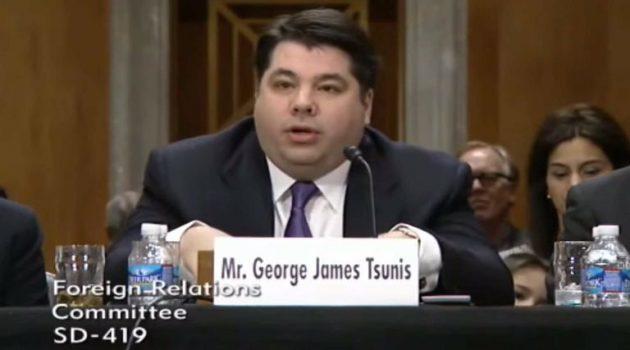 Τζορτζ Τσούνης: Και επίσημα η πρόταση Μπάιντεν για νέος Πρέσβης των Η.Π.Α. στην Αθήνα