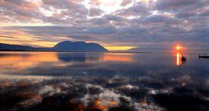 Ξημέρωμα στη Λιμνοθάλασσα του Μεσολογγίου (Photos)