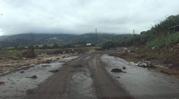 Καθαρισμός δρόμων στο Δήμο Ξηρομέρου μετά από την νεροποντή (Photos)